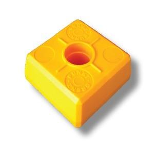 DuoBloc-Abschlußkopf, gelb*