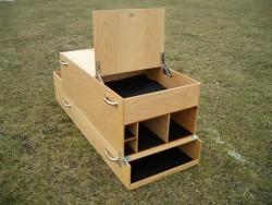Geo-Kombibox, Holz (komplett)