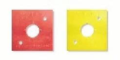 Kunststoffplatte für DuoBloc-Vermarkung*
