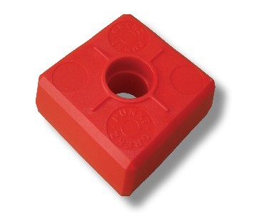 DuoBloc-Abschlußkopf, rot*